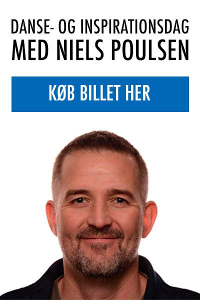 Køb din billet til danse- og inspirationsdag med Niels Poulsen
