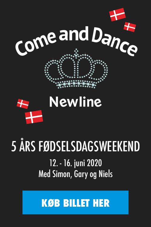 Køb din billet til Come and Dance 5 års fødselsdagsweekend