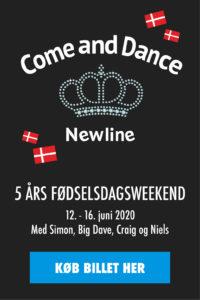 Køb billet til Come and Dances 5 års fødselsdagsweekend